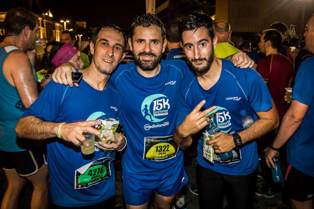 Motivos para correr de noche 15K Nocturna Valencia