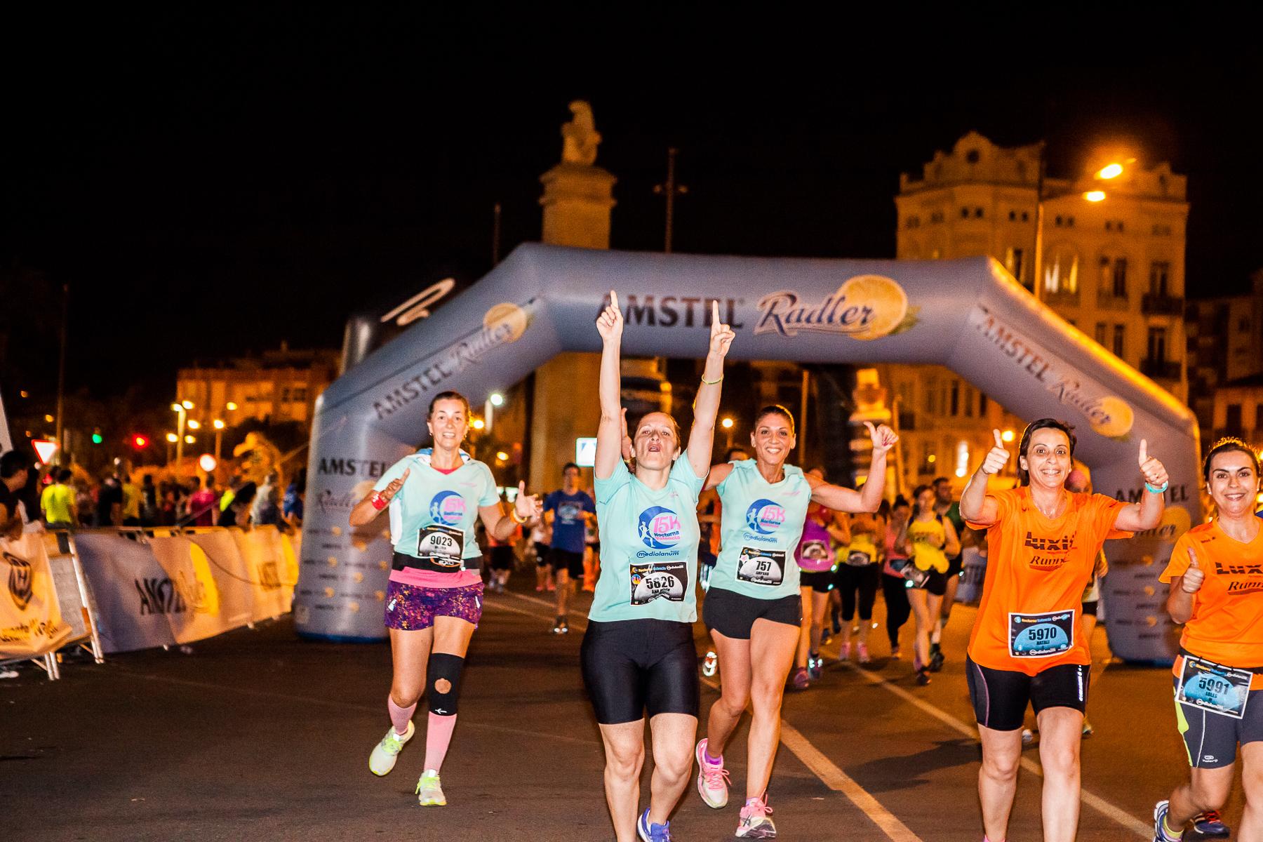 15K Nocturna Valencia Participacion Femenina 2017
