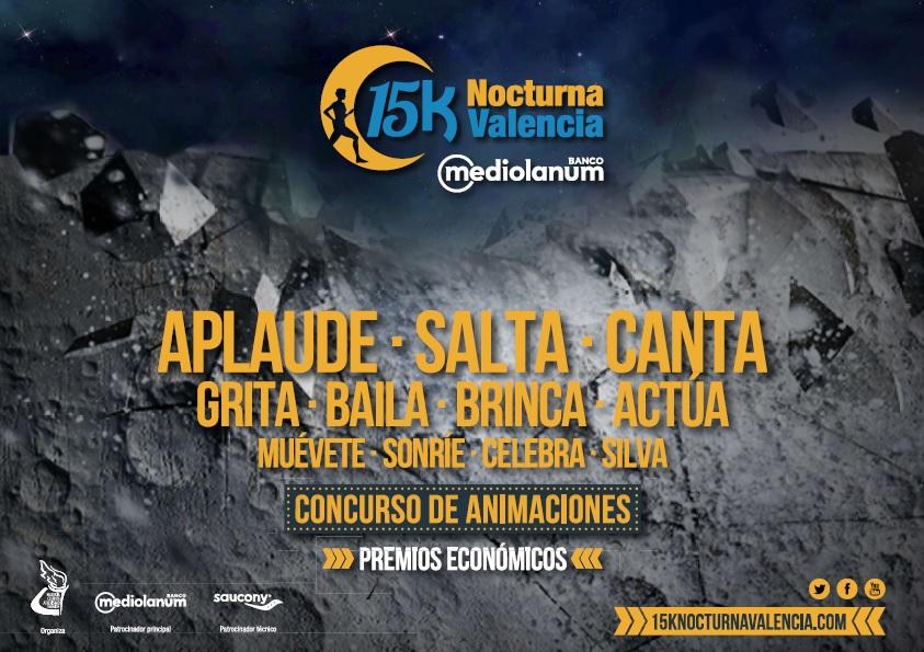 Concurso Animaciones 15K Nocturna Valencia 2017