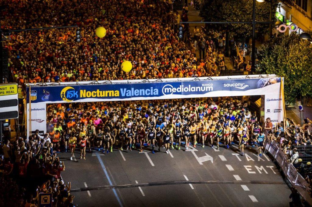 Resultado de imagen de 15k nocturna valencia 2018