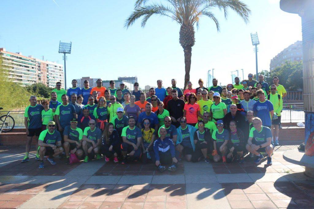 15K Nocturna Valencia Grupo Entrenamiento 2019 02